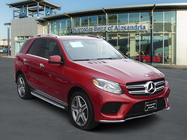 Certified Pre Owned 2016 Mercedes Benz Gle 350 Sport