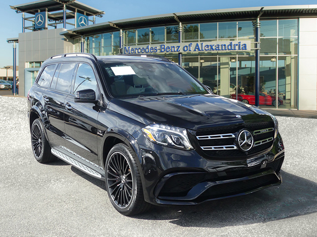 Certified Pre Owned 2017 Mercedes Benz Gls Amg 63 Suv