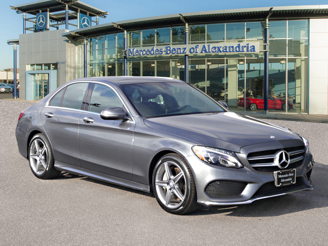 Pre-Owned 2017 Mercedes-Benz C-Class C 300 Sport