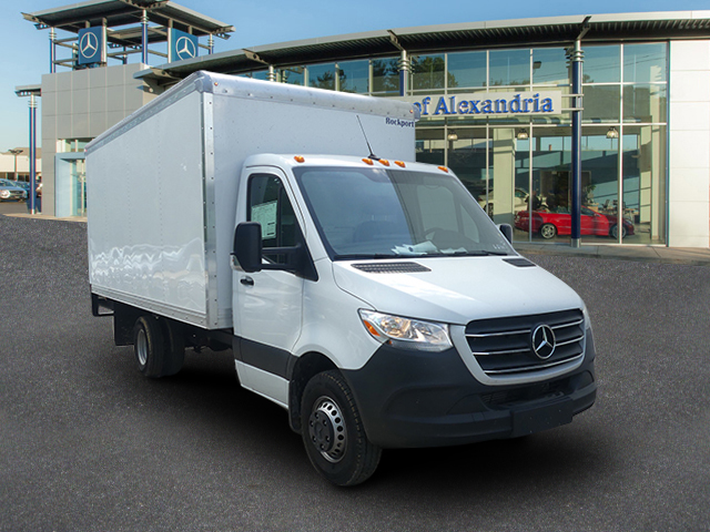 New 2019 Mercedes-Benz Sprinter Cab Chassis 170 WB w/ 16' Box Truck