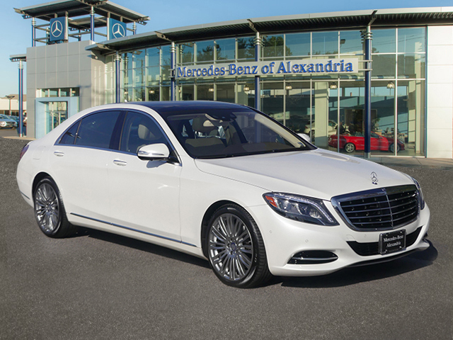 Certified Pre-Owned 2017 Mercedes-Benz S-Class S 550